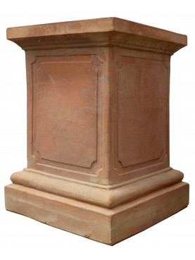 Terracotta base H.63cms/46x46cms from Impruneta