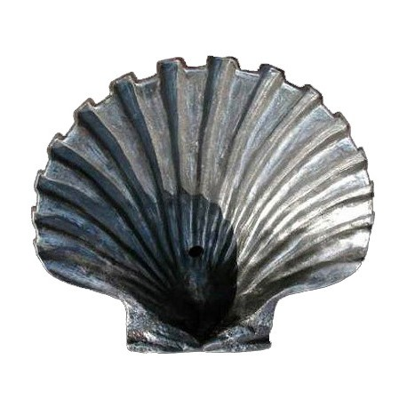 Pecten jacobaeus sink cast-iron shellsink