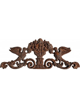 Cast iron decoration for iron doors, gates and greenhouses