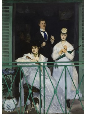 The railing of Édouard Manet 1868 - our forged irone repro