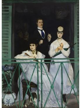 Il balcone (Le balcon) è un dipinto del pittore francese Édouard Manet e da noi riprodotto