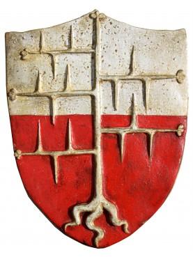 Majolica coat of arms - Spino secco Malaspina