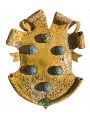 Majolica coat of arms - Medici arms with six spheres - our production