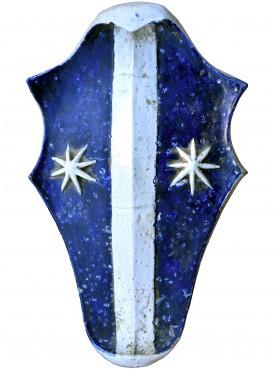 Stemma in maiolica della famiglia Cattani da Diacceto XIII secolo