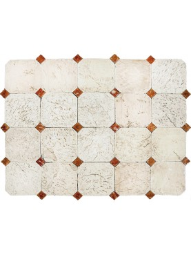 Large Octagons in Limestone
