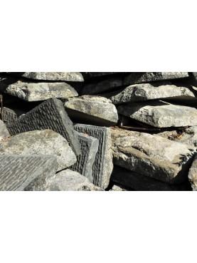 PAVIMENTO antico IN PIETRA ARENARIA GRIGIA pietraserena