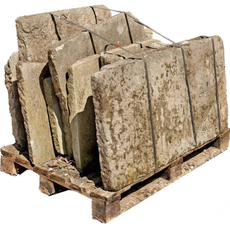 "Original ancient stone ""Peperino"" - large stones"
