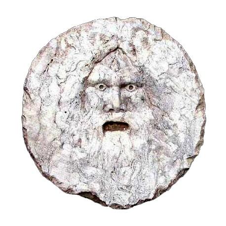 Bocca della Verità our repro in limestone