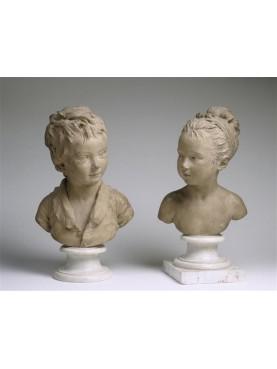 Louise e Alexandre Brongniart - Houdon - Paris Louvre