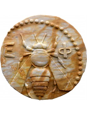 Ephesus Bee roundel - from an acient Greek coin