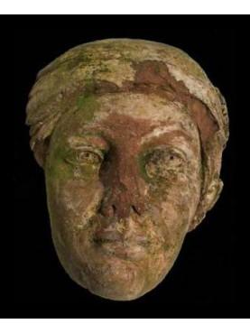 Volto femminile romano