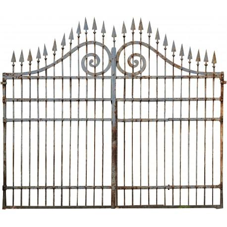 spesso Cancello in ferro battuto di 360cm. italiano - Recuperando SY15