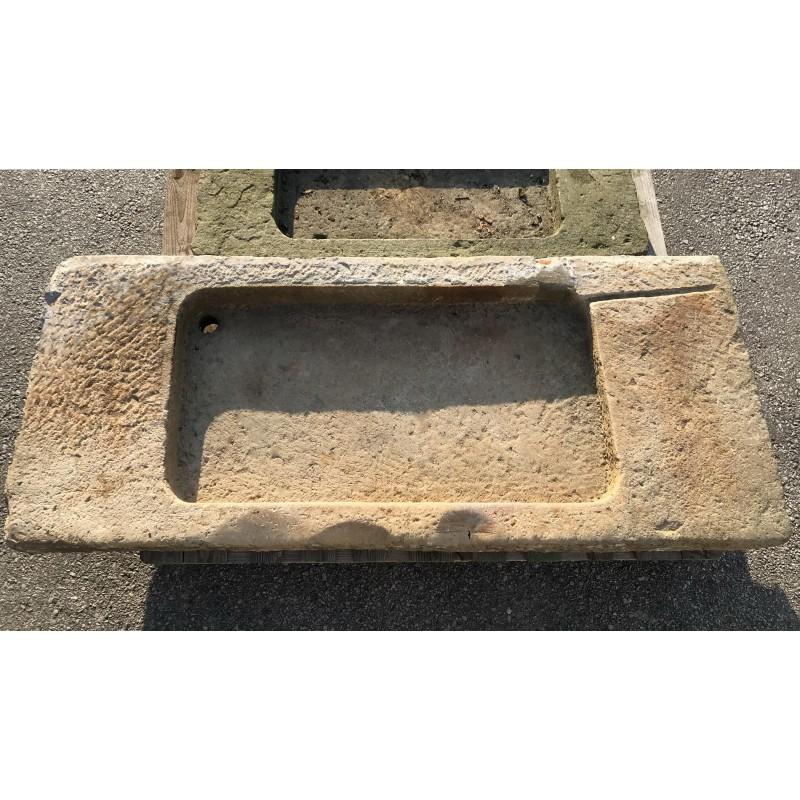 antico Lavandino in pietra arenaria da cucina - Recuperando