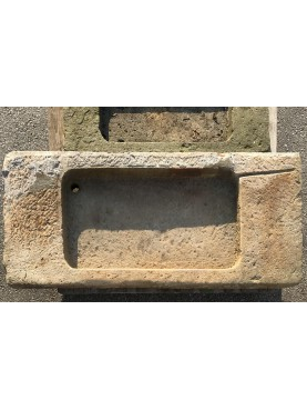 Ancient Tuscan sand-stone Sink for kitchen