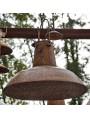 Plafoniere in ferro Ø50cm smaltato lampadario in sospensione industriale ferro