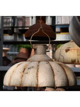 Plafoniere in ferro Ø64cm smaltato lampadario in sospensione industriale ferro