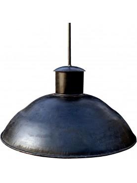 Plafoniera in ferro Ø50cm smaltato industriale parabola