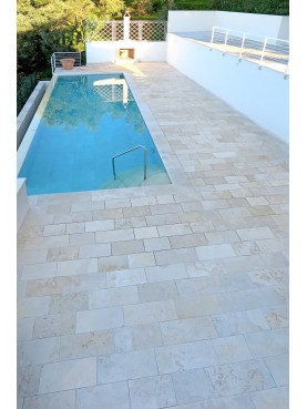 White limestone 2 cm thick non-heavy machining - limestone
