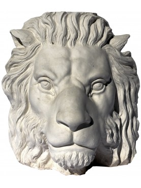 Lion head in plaster from Renaissance