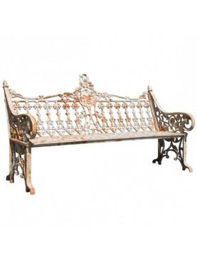 Vatican Garden bench