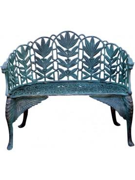 Marijuana bench - - Coalbrookdale Company design 1889 - castiron