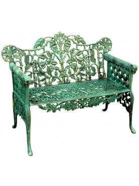 Cast-iron bench reproduction
