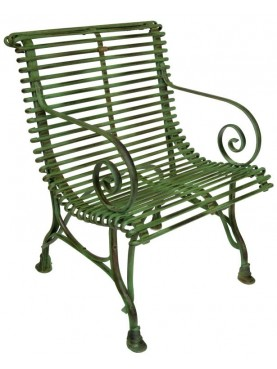 Forged Iron armchair
