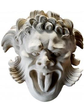 Mascherone della Villa Altoviti di Lastra a Signa nostra repro in gesso