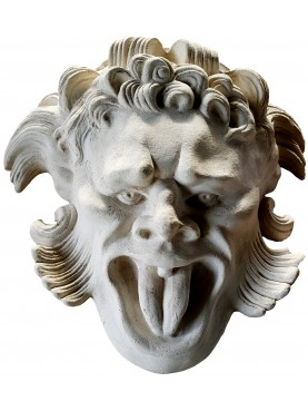 Large Mask Villa Altoviti Lastra a Signa Florence - our plaster replica