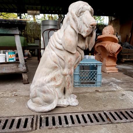 Bloodhound TERRACOTTA DOG
