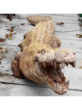 1:1 CROCODILE TERRACOTTA - life size