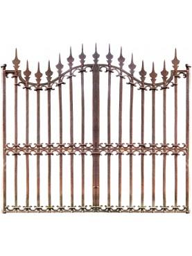 Cancello largo 270 cm in ferro battuto