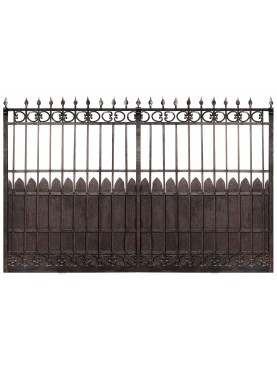 "Forge iron gradeng gate ""Frilli home"""