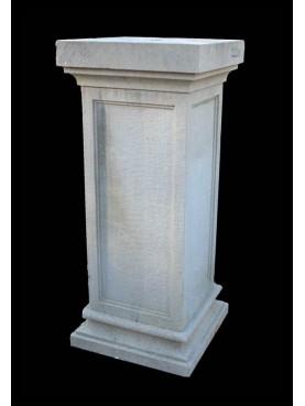 Square column H.83cms/35x35cms