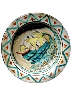 Bacini ceramici piatti medioevali pisani