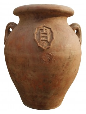Orcio Toscano piccolo H.58cm antico famiglia Della Scala