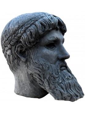 Zeus di Capo Artemision - testa terracotta - Cronide