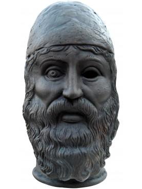 Bronzo di Riace, testa in terracotta, il giovane
