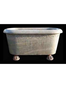 Stupenda gigantesca vasca in pietra