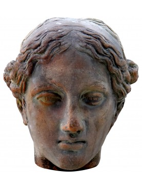 Faustina terracotta head
