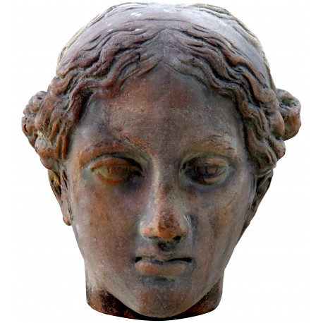 Faustina terracotta head