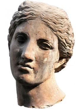 Roman horsewoman female head