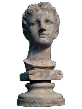 Goddess of Buthrotum - Butrint - terracotta head