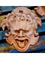 Mascherone Altoviti in terracotta grezza non patinata