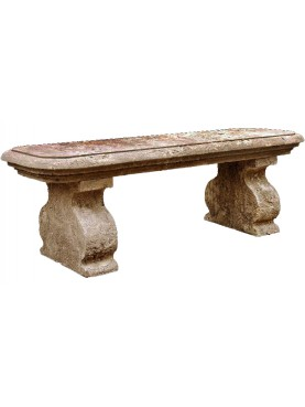 Lime stone bench our production
