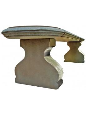 Panchina settecentesca di nostra produzione in pietra serena