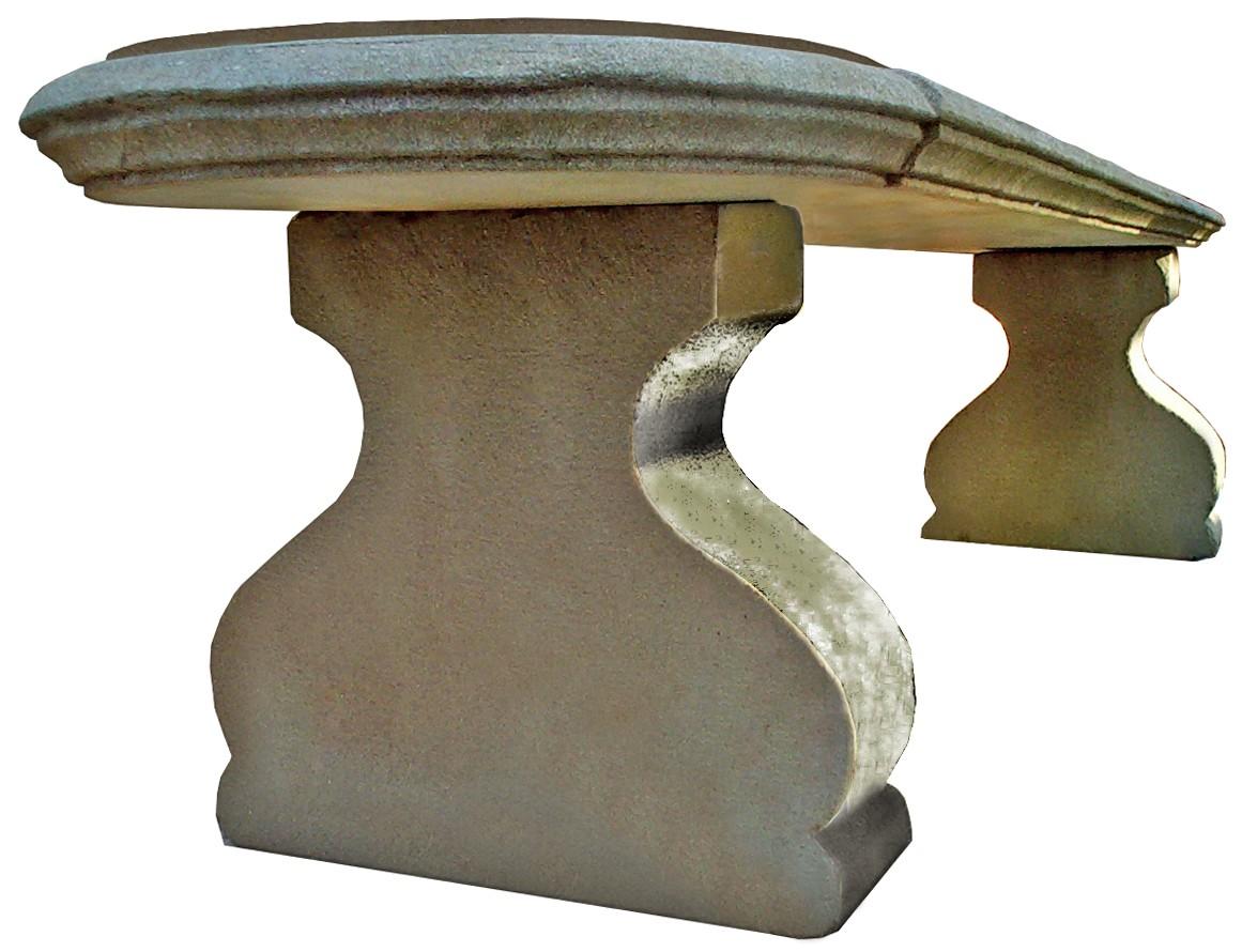 Altezza Panchina Da Terra : Panchina settecentesca di nostra produzione in pietra serena