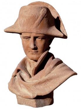 NAPOLEONE BONAPARTE busto in terracotta