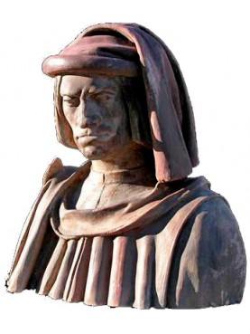 Lorenzo de' Medici busto in terracotta
