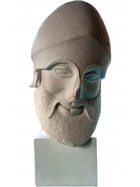 Copy of the original warrior - plaster cast
